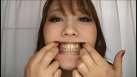 the inside of the Japanese girl's mouth 24