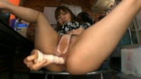 Japanese Girl Farts While Masturbating Her Anal 04