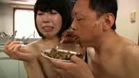 forced to eat her own shit : cooking shit....!!!! 02