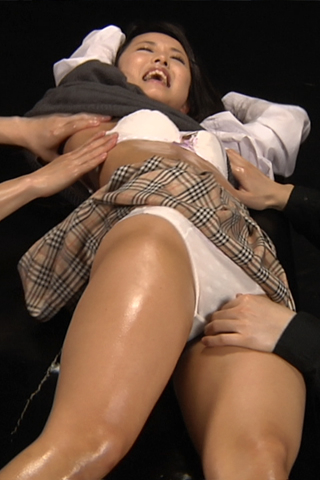 Tickle torture asian girl