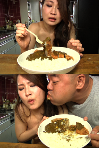 forced to eat her own shit : cooking shit....!!!! 04