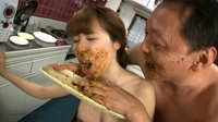 forced to eat her own shit : cooking shit....!!!! 07